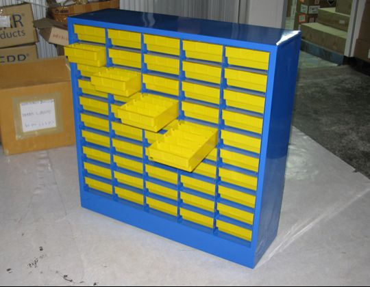 Box Shelf Storage Cabinet