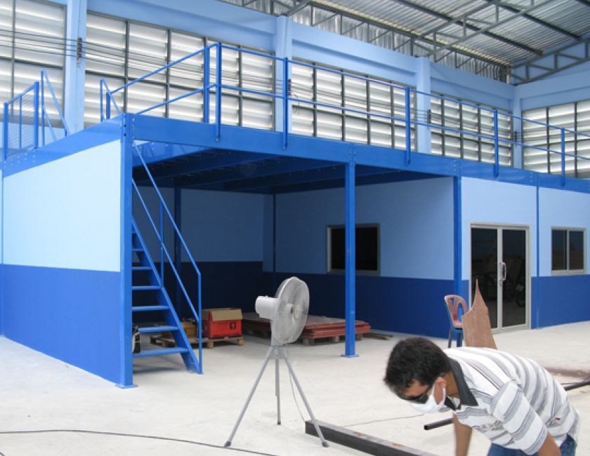 Mezzanine Floor  & Office