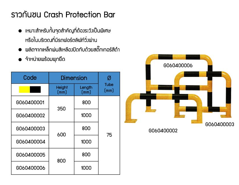 Crash Protection Bar